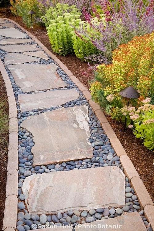 walkway-pebbles