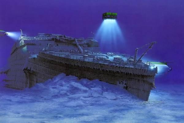 A Titanic napjainkban