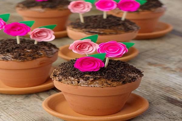 Flower-Pot-Cupcake
