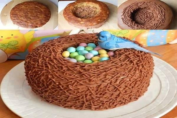 húsvéti torta képek 4 látványos húsvéti torta lépésről lépésre! Nem csak finom, de  húsvéti torta képek