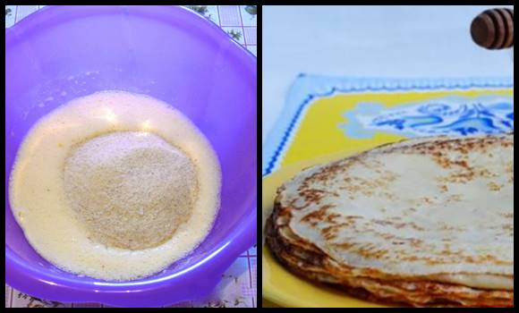 Ezt keverte a palacsinta tésztájához liszt helyett és finomabb lett, mint az eredeti! Nekünk is nagyon bejött!